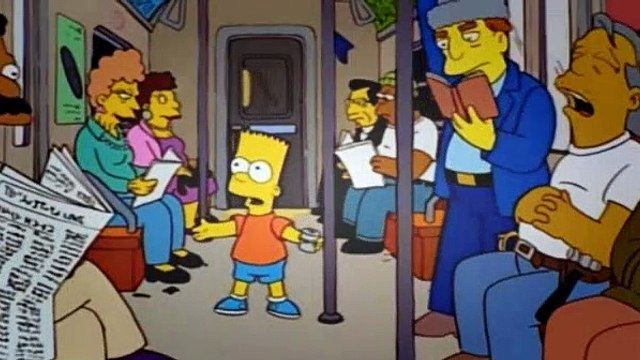 The Simpsons Season 9 Episode 1 City of Ny vs Homer Simpson