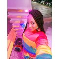 Malika Supports Wally Seck with Rainbow