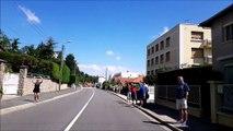 Tour de France  la foule à Saint Genest Lerpt