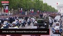Défilé du 14 juillet : Emmanuel Macron hué pendant son passage (vidéo)