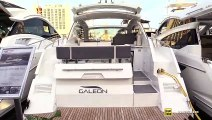 2019 Galeon 405 HTS Luxury Yacht - Deck and Interior Walkaround - 2018 Fort Lauderdale Boat Show