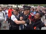 Défilé du 14 juillet: un commissaire de police a perdu son sang-froid face à des gilets jaunes