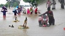 Bihar flood: बिहार में बाढ़ से हाहाकार, कई ज़िलों में बिगड़े हालात