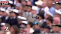 Défilé du 14 juillet : Le soldat aérien qui a survolé la place de la Concorde (vidéo)