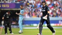 CWC 2019 Final ENG vs NZ: Martin Guptil fails again, Chris Woakes Strikes | वनइंडिया हिंदी