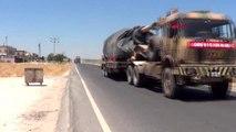 Şanlıurfa Suriye sınırındaki Akçakale'ye askeri sevkiyat