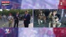 Défilé du 14 juillet : Le saut en parachute de la journaliste Marie-Sophie Lacarrau (vidéo)