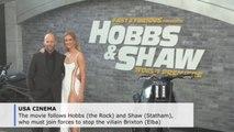 The Rock, Jason Statham, Idris Elba attend Fast and Furious premiere