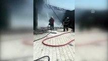 Hatay'da katı atık deposunda yangın