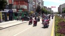 Çorum'da motosikletli gösteriler nefes kesti