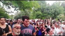 ODTÜ'de KYK yurduna karşı eylemler devam ediyor