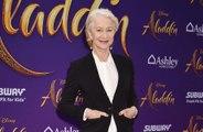 Dame Helen Mirren cuts her own hair