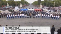 Macron celebrates Bastille Day with European partners
