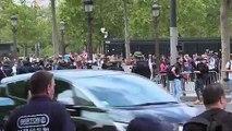 Des tensions sur les Champs-Elysées après le défilé du 14-Juillet