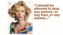 """Scarlett Johansson says she should be allowed to play """"any person"""" she wants"""