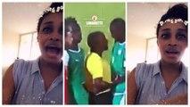 "Les ""saga"" de Ndeye Ndack pendant le match du Sénégal : ""Mbeukeul nd..."""