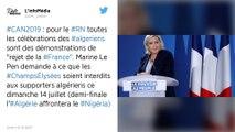 CAN 2019 : Le RN voit un «rejet de ce qu'est la France» dans les incidents après la victoire algérienne