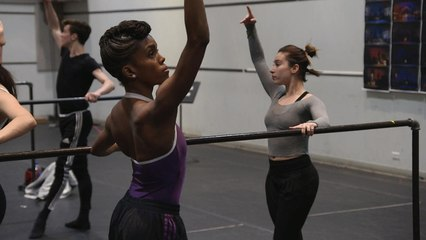 Ballerina overcomes scoliosis to take center stage
