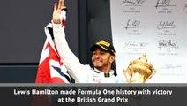 Hamilton wins record sixth British Grand Prix