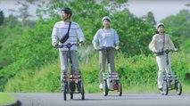 Yamaha TriTown: el patinete urbano de tres ruedas