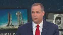 "NASA Administrator Jim Bridenstine says ""political risk"" hampered human exploration of Mars"