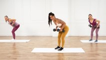 This 30-Minute Full-Body Strength-Training Workout With Weights Will Pump You Up!