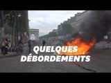 14 juillet à Paris: des gilets jaunes envahissent les Champs-Élysées et affrontent les CRS