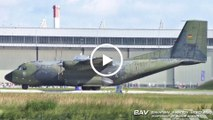  Tag der Bundeswehr 2017  Transall C-160D - German Air Force 51+05 - arrival at Landsberg Air Base [2160p25]