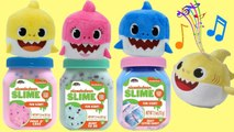 Pinkfong's Dancing Baby Shark Song - Plush Toys with Nickelodeon Slime for Kids