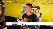 Course de drones à grande vitesse à Turin