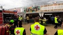Début d'incendie dans un stand du festival de Dour