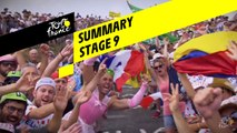 Summary - Stage 9 - Tour de France 2019