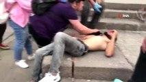 Başkent'te 'yan baktın' kavgası kanlı bitti: 1 yaralı