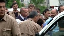 Cumhurbaşkanı Erdoğan, Çengelköy'de vatandaşlarla bir araya geldi