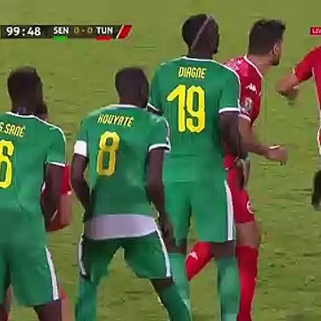 Dylan Bronn own Goal - Senegal 1-0 Tunisia (Full Replay)