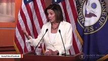 Nancy Pelosi Blasts Trump Over Racist Tweets