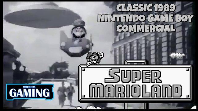 Classic Super Mario Land Commercial (1989)