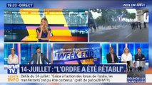 14-juillet: violences sur les Champs-Élysées après le défilé (2/2)