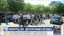 300 personnes se sont réunies ce dimanche en soutien aux proches de la femme tuée par un chauffard à Montpellier