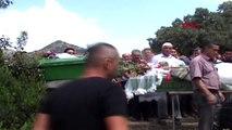 AYDIN Traktör kazasında ölen baba-kız toprağa verildi