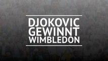 Djokovic beats Federer for Wimbledon title