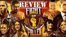 AEW FIGHT FOR THE FALLING HIGHLIGHTS RECAP REVIEW GOOD,BAD AND THE UGLY #FightForTheFalling