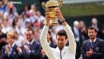 Djokovic se corona campeón de Wimbledon en una final épica contra Federer