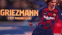 Barça - Le clip de présentation en l'honneur de Griezmann