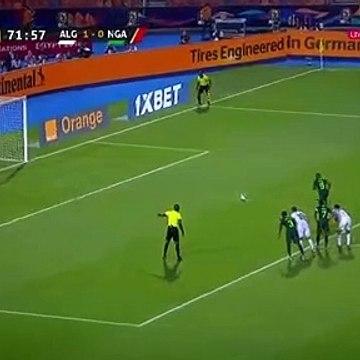 Odion Ighalo penalty Goal - Algeria 1-1 Nigeria (Full Replay)