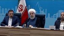 روحاني يعلن استعداد طهران للتفاوض مع واشنطن بشروط