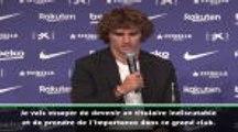 """Barça - Griezmann : """"Prendre de l'importance dans ce grand club"""""""