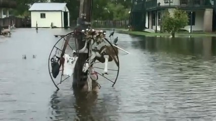 Flooding threatens Louisiana as Barry moves inland