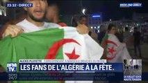 À Marseille, les fans de l'Algérie fêtent la qualification sur le Vieux-Port