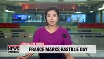 Bastille Day in France showcases European military cooperation